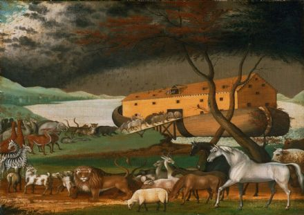 Hicks, Edward: Noah's Ark. Fine Art Print/Poster (149)